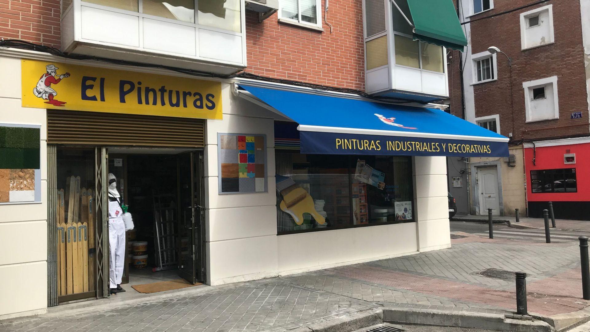 Tienda de pinturas en Madrid