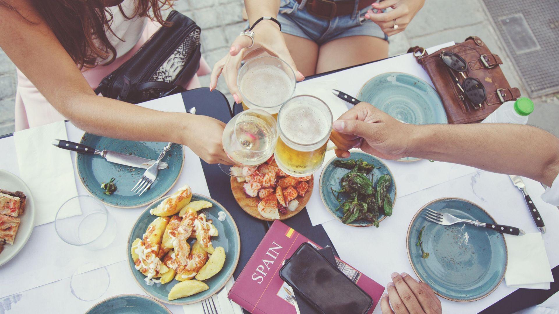 Bar cafetería de picoteo en Valladolid
