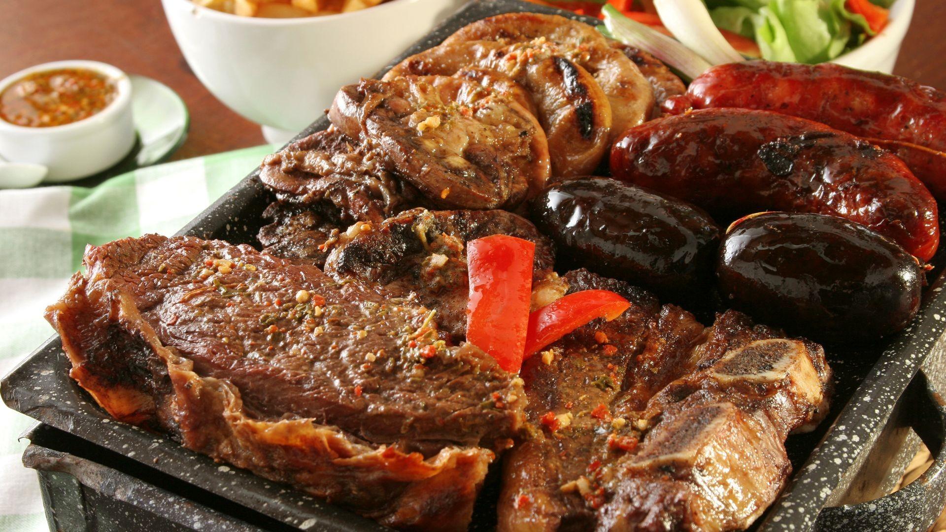 Parrillada de carne argentina en Pasaia