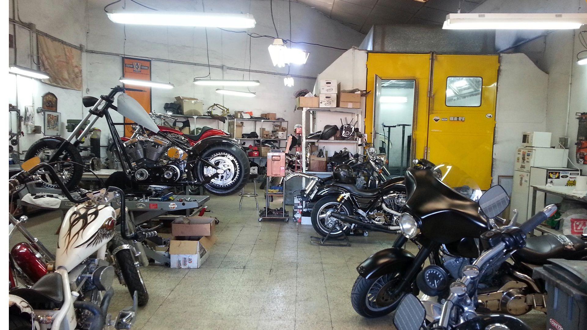 Taller de reparación de motos en Málaga