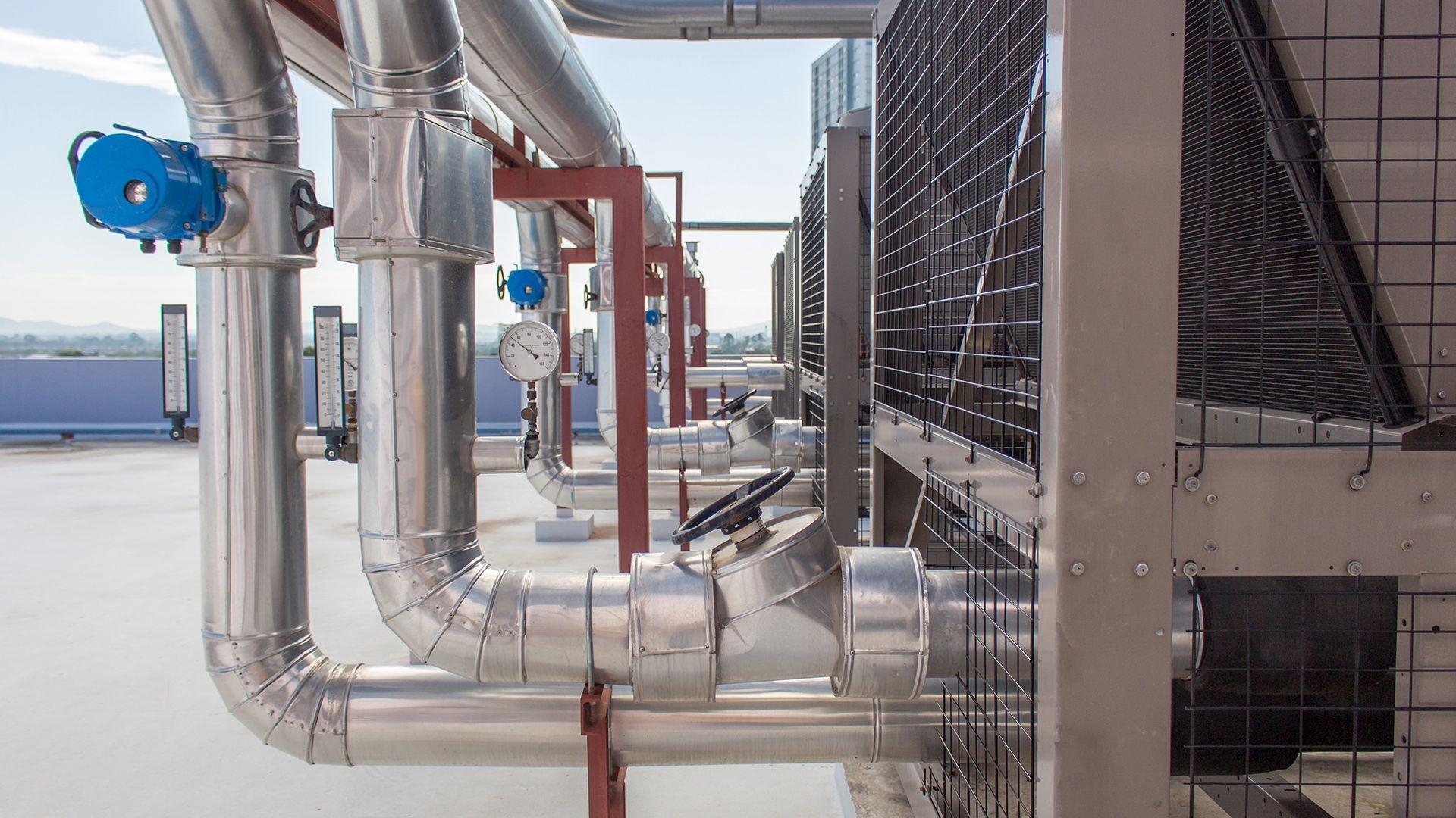 Sistemas de ventilación industrial en Guinardo