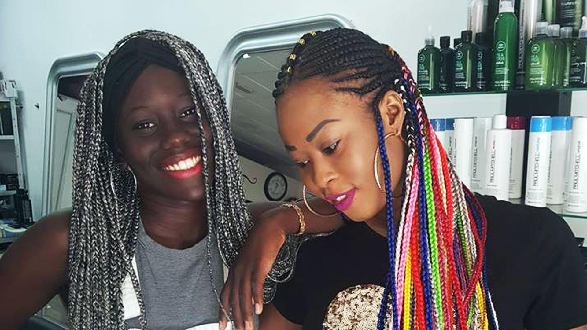 Moda en peinados africanos en Granada