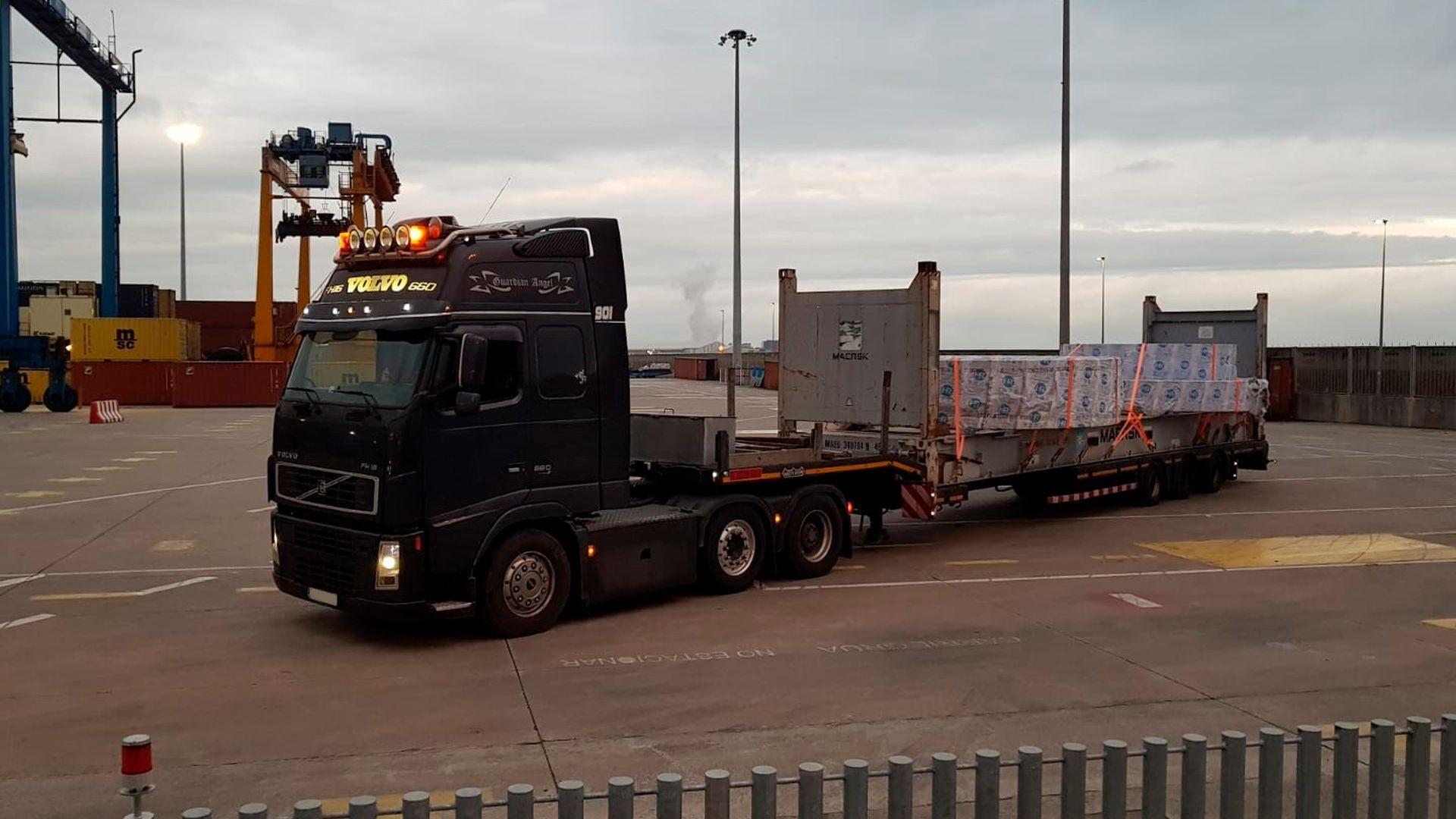 Empresa de transportes especiales en Bilbao