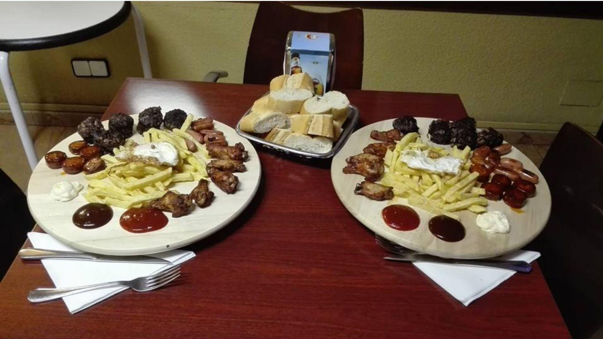 menú del día Palencia