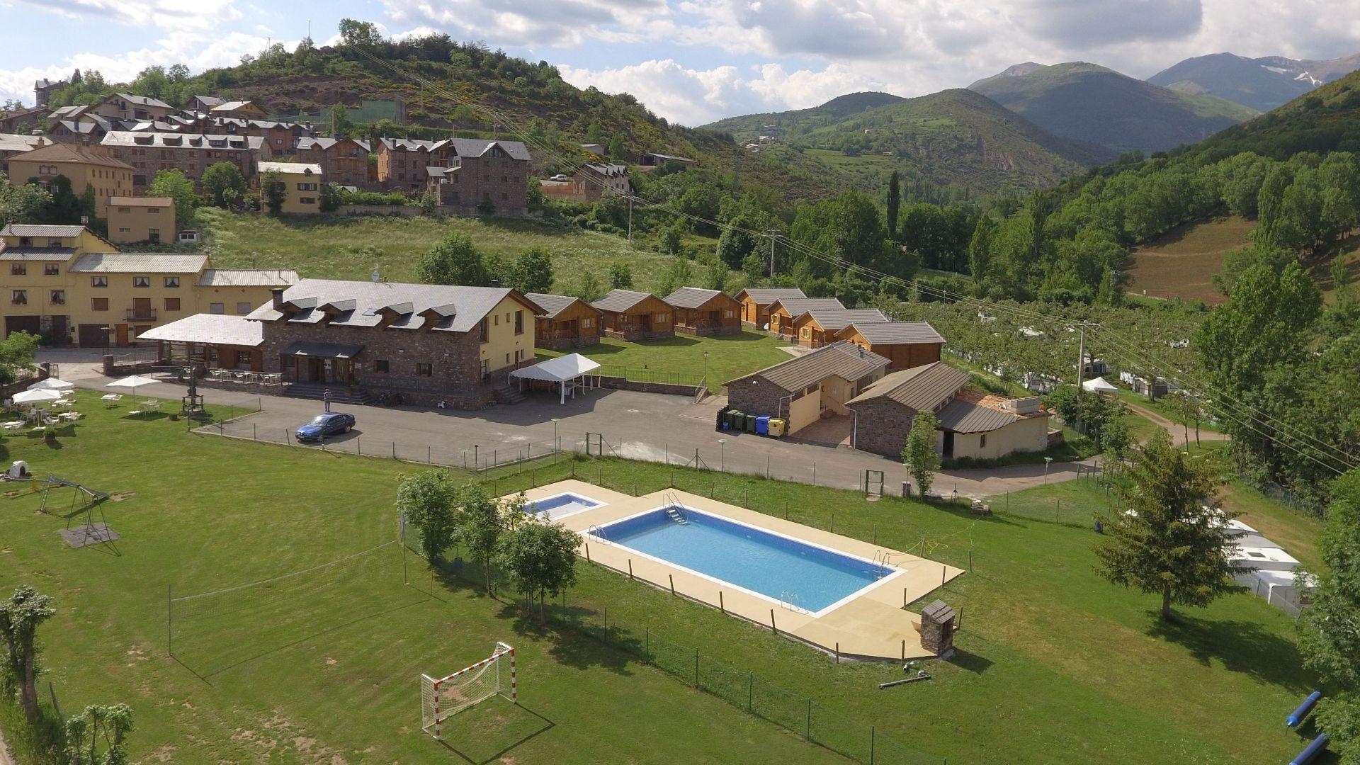 Camping Las Paules en Huesca