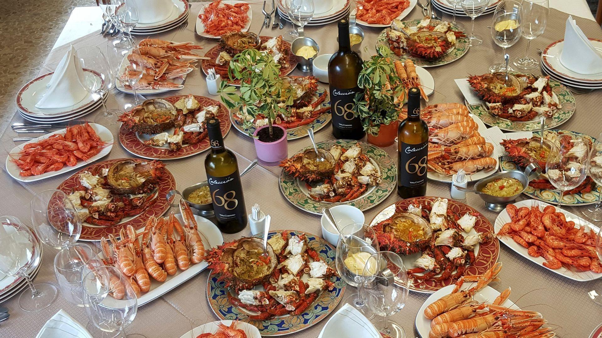 Restaurante marisquería en Soutomaior