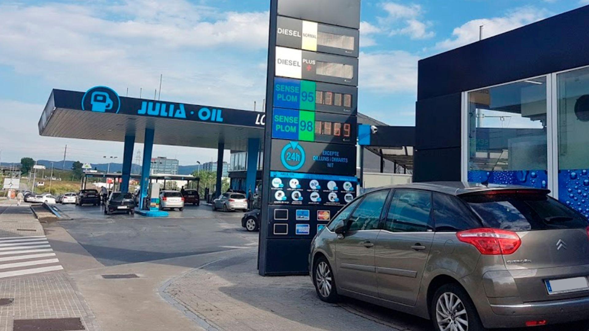 Estación de servicio en Rubí