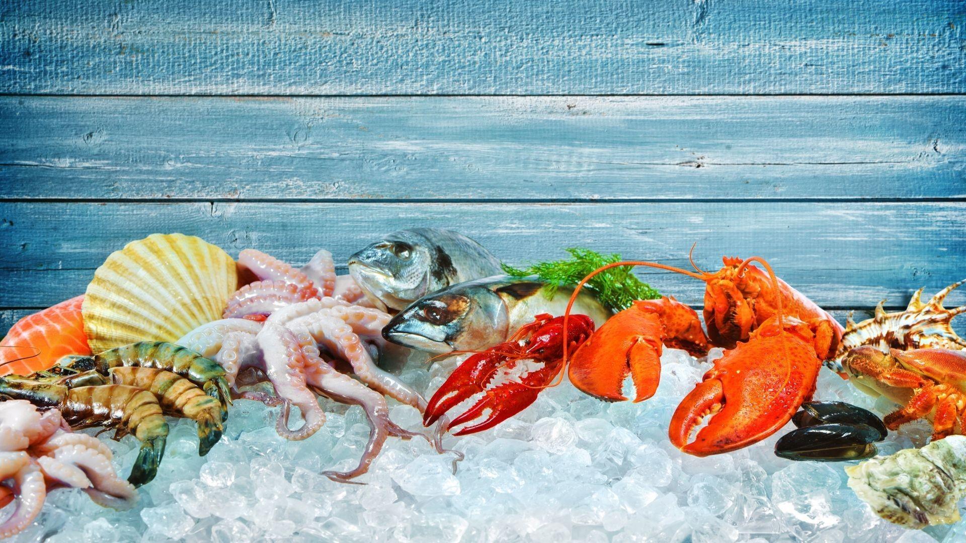 Venta de pescado y marisco frescos en Vitoria