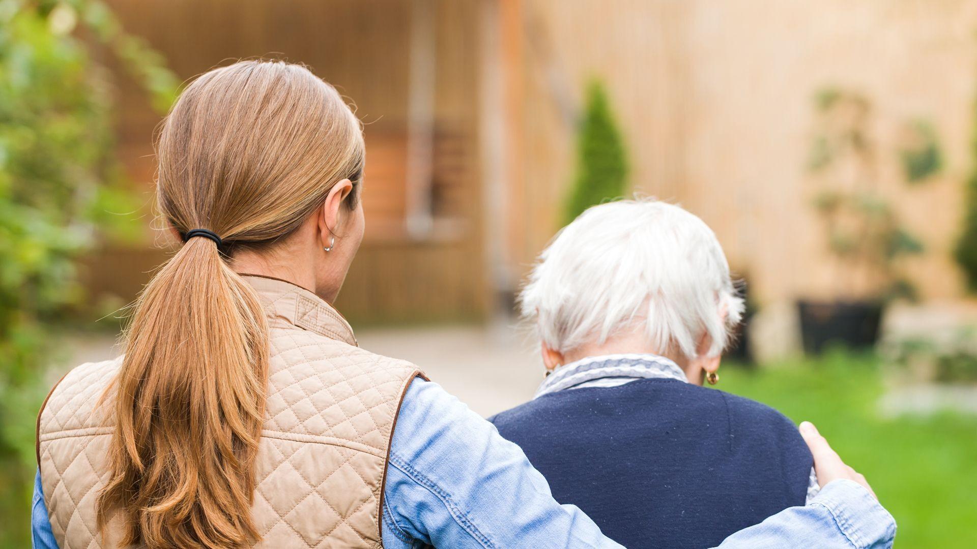 Cuidado de ancianos válidos