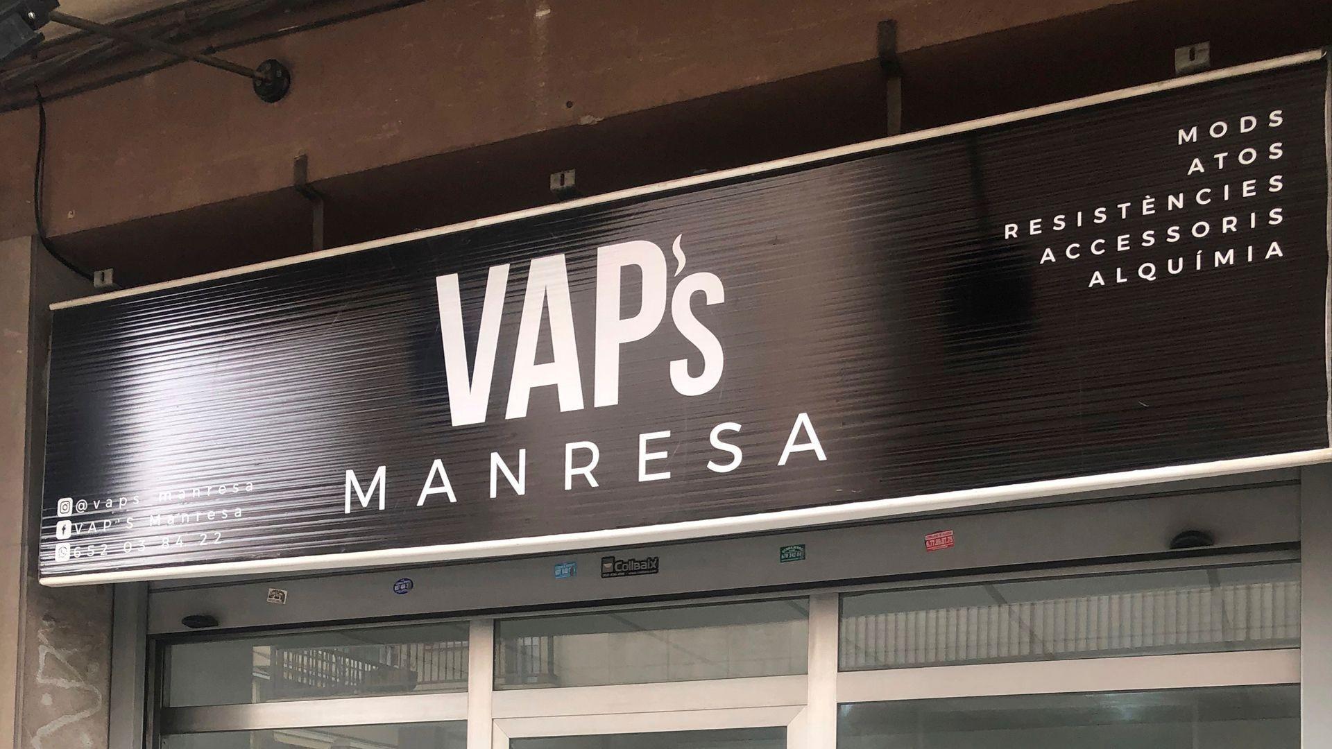 Tienda de vaporizadores y cigarrillos electrónicos en Manresa