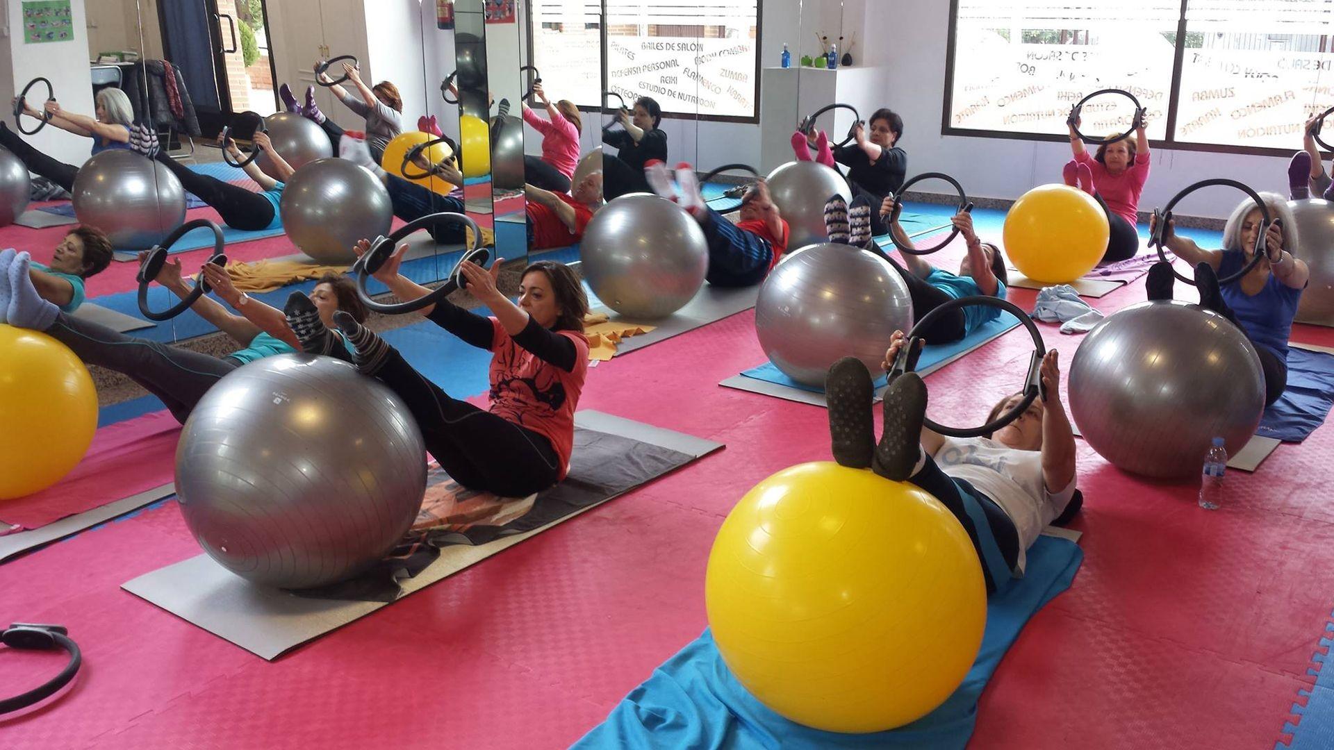 Clases de pilates en Moratalaz