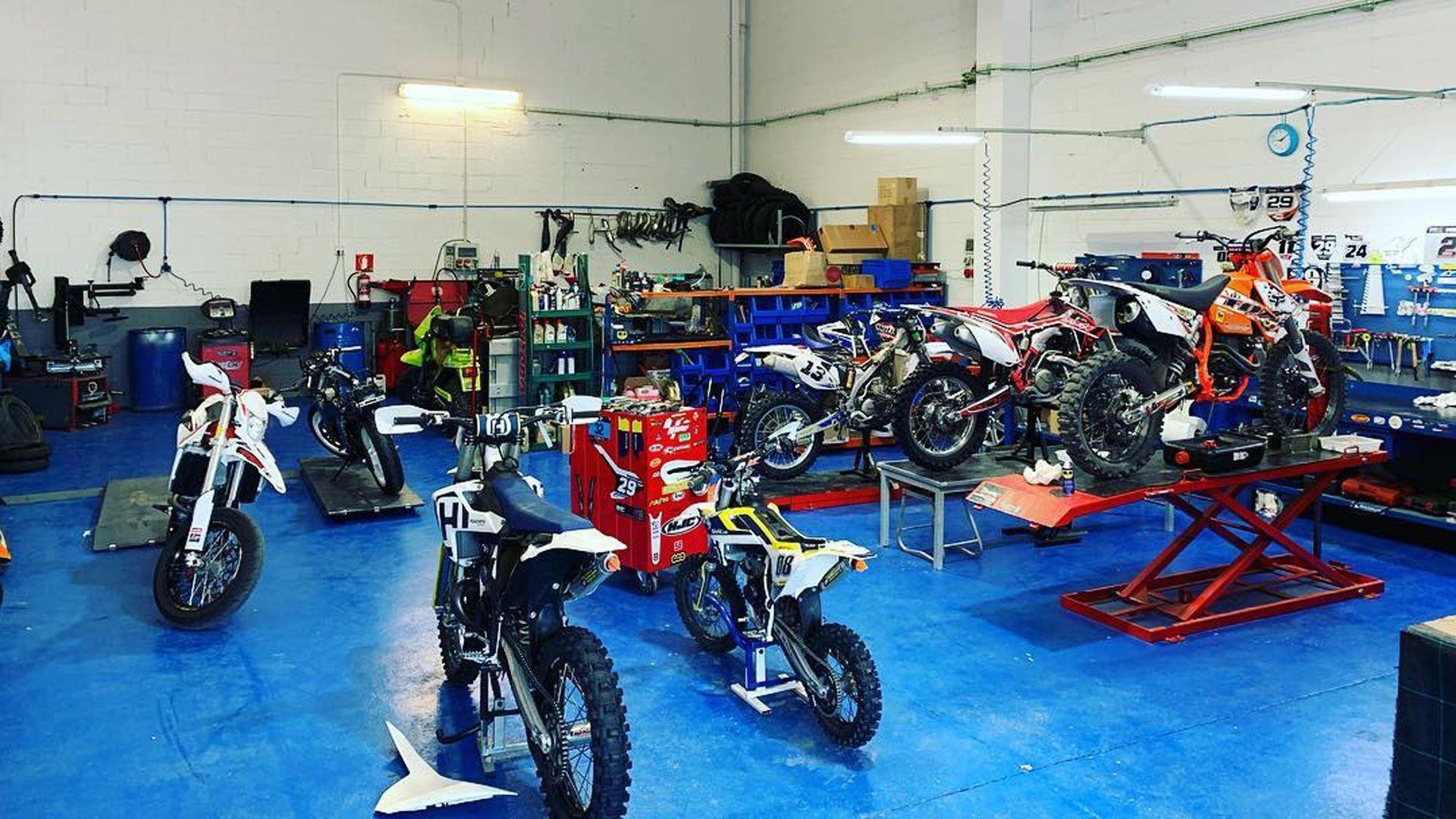 Taller especializado en motos enduro en Barcelona