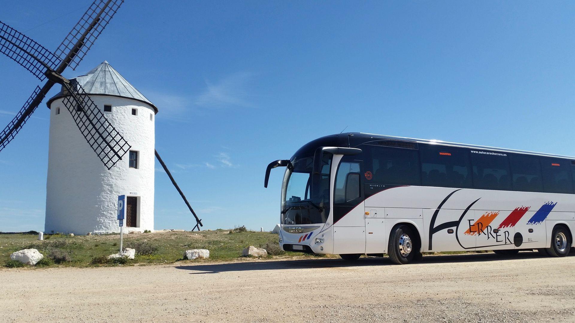 Autobuses escolares en Palencia