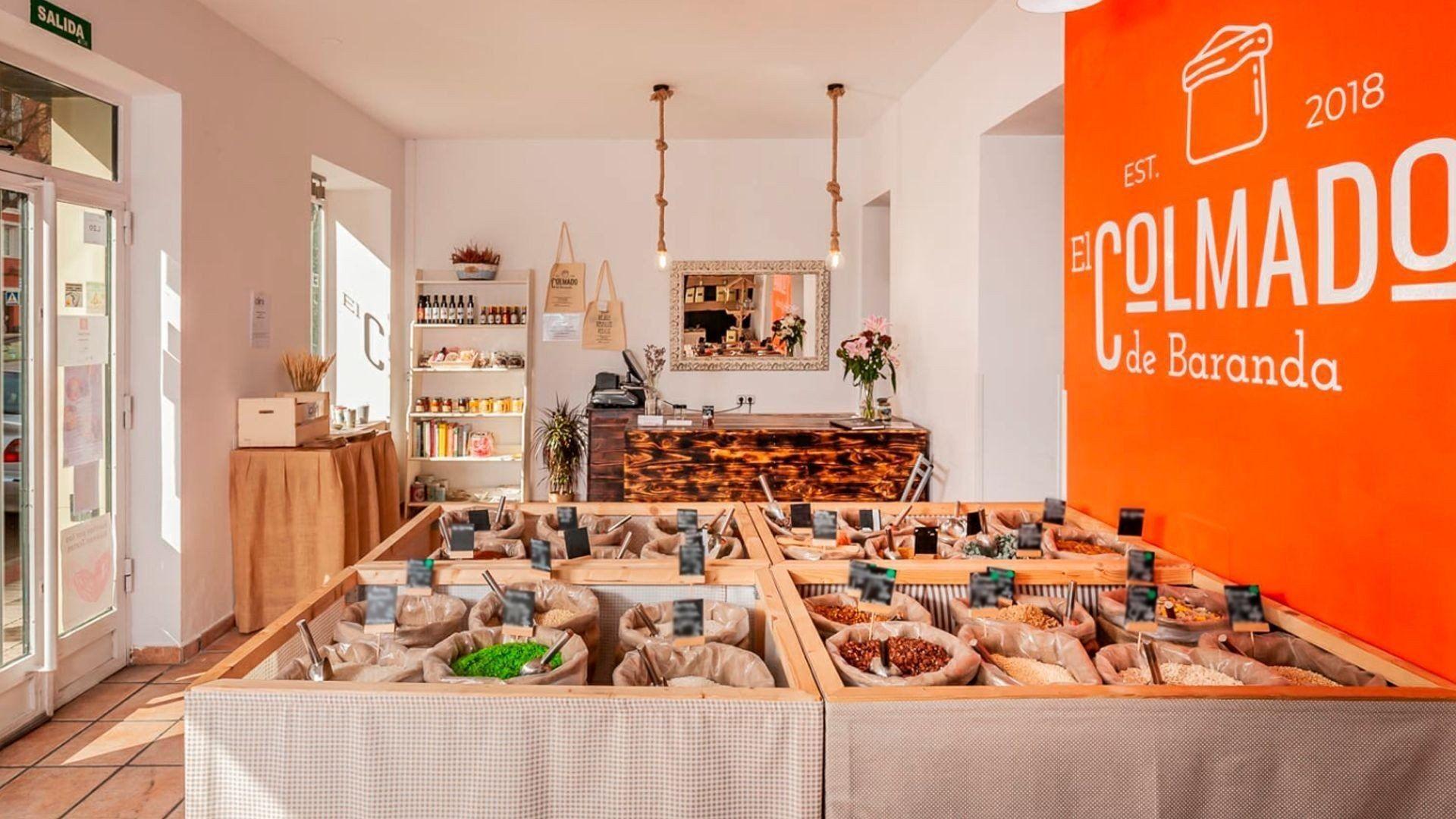 Tienda de productos a granel en Madrid