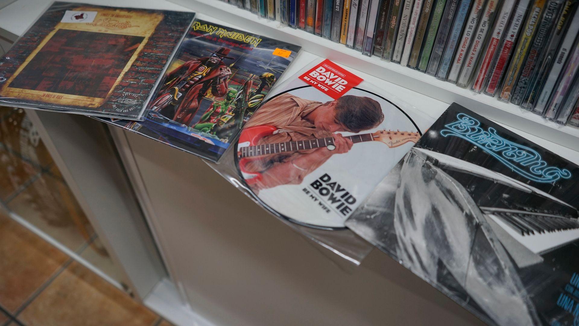 Venta de discos de vinilo
