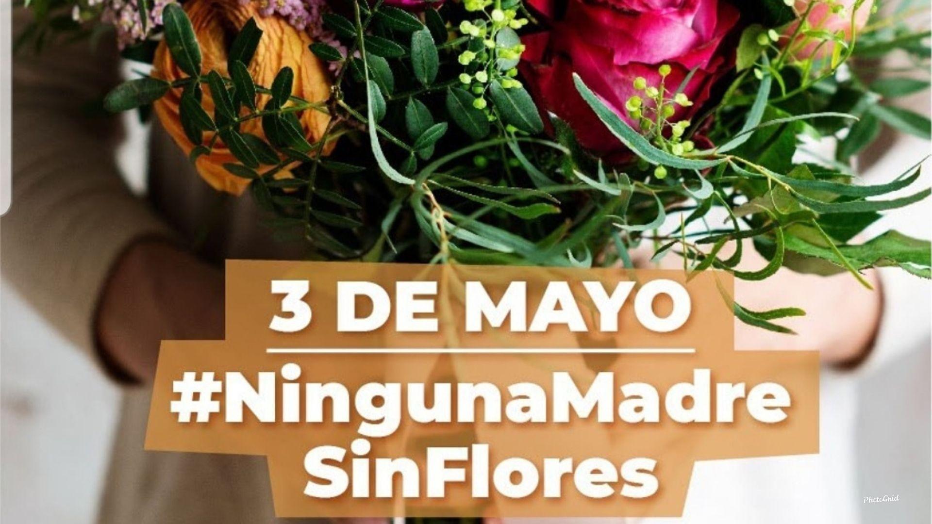 3de Mayo #NingunaMadreSinFlores