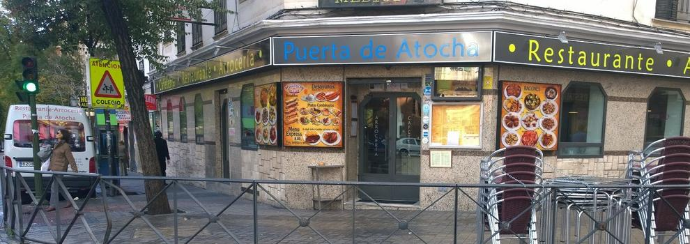Restaurante cerca del ave en madrid centro restaurante arrocer a puerta de atocha - Puerta de atocha ave ...