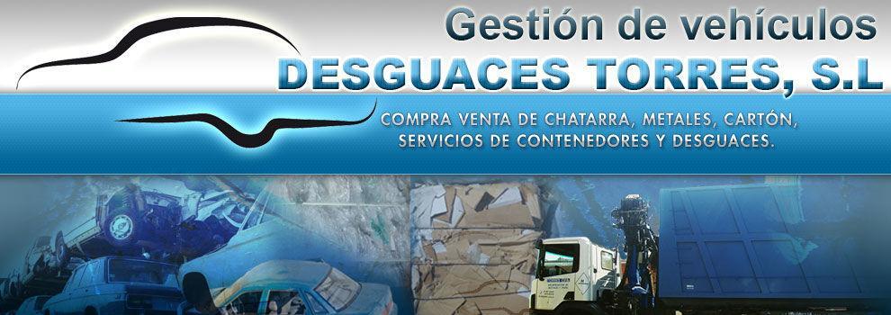 Desguaces y chatarras en Aranjuez   Desguace Torres