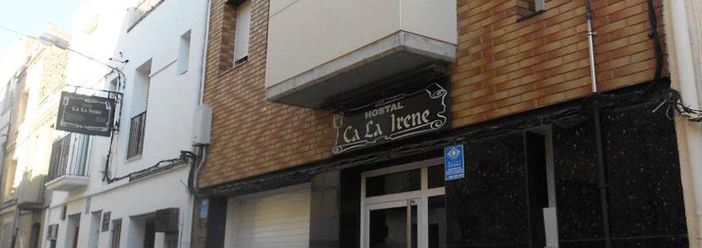 Hostales en Sant Vicenç de Castellet   Hostal Ca La Irene
