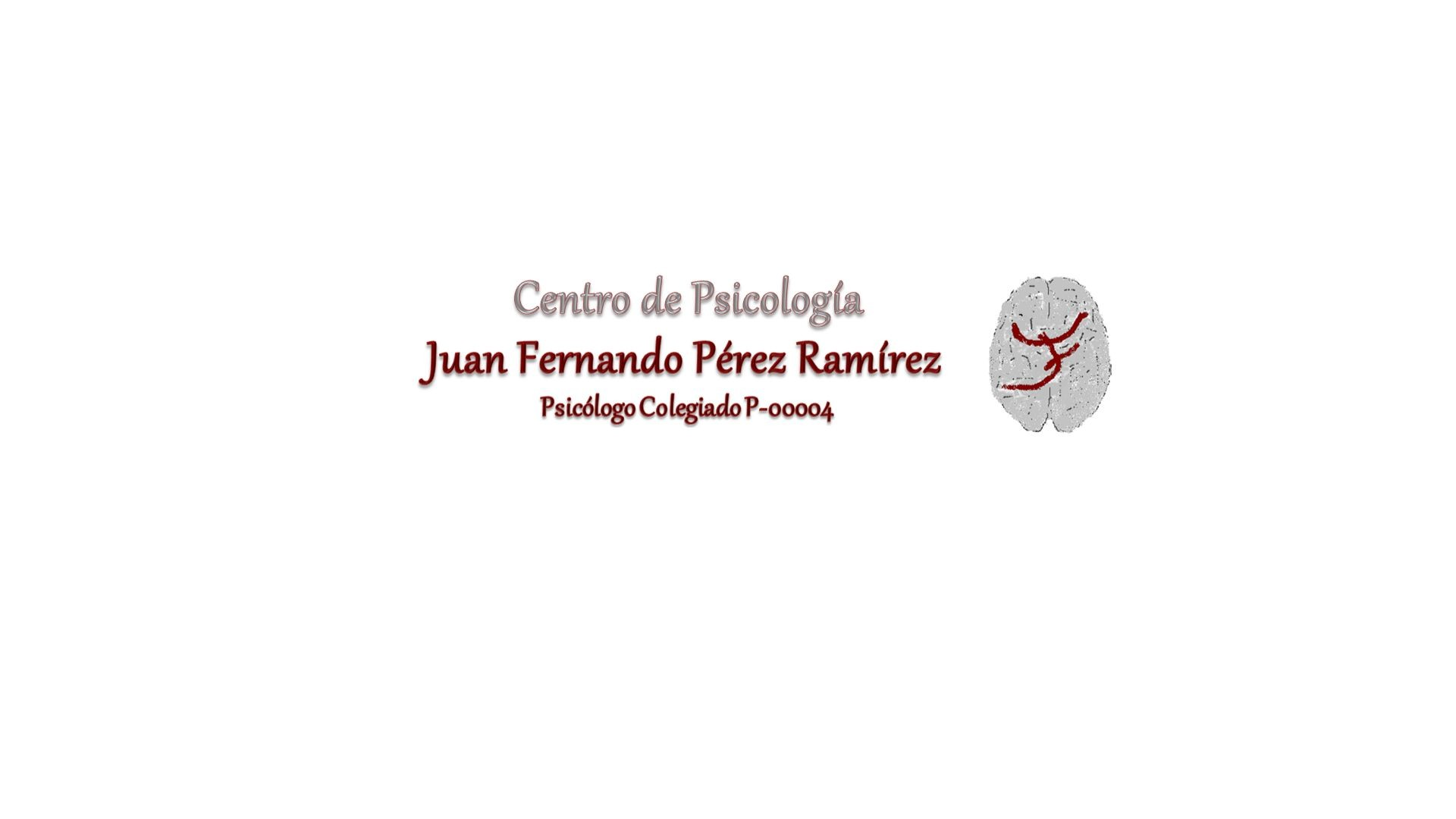 Psicólogo Juan Fernando Pérez Ramírez