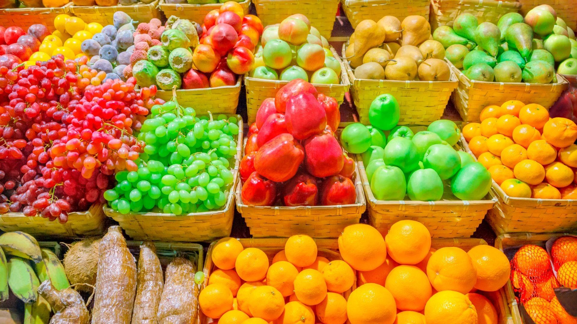 Frutas selectas en Soto del Real