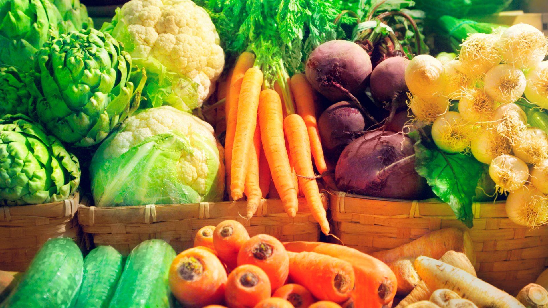Verduras frescas en Soto del Real