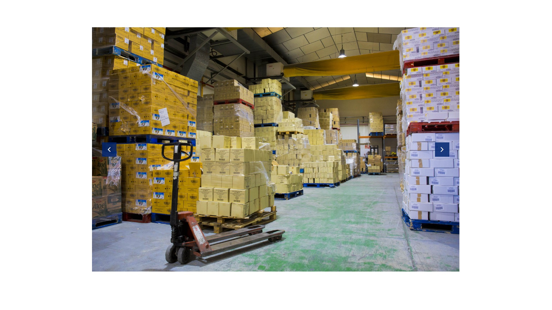 Distribución de productos de alimentación asiáticos y británicos