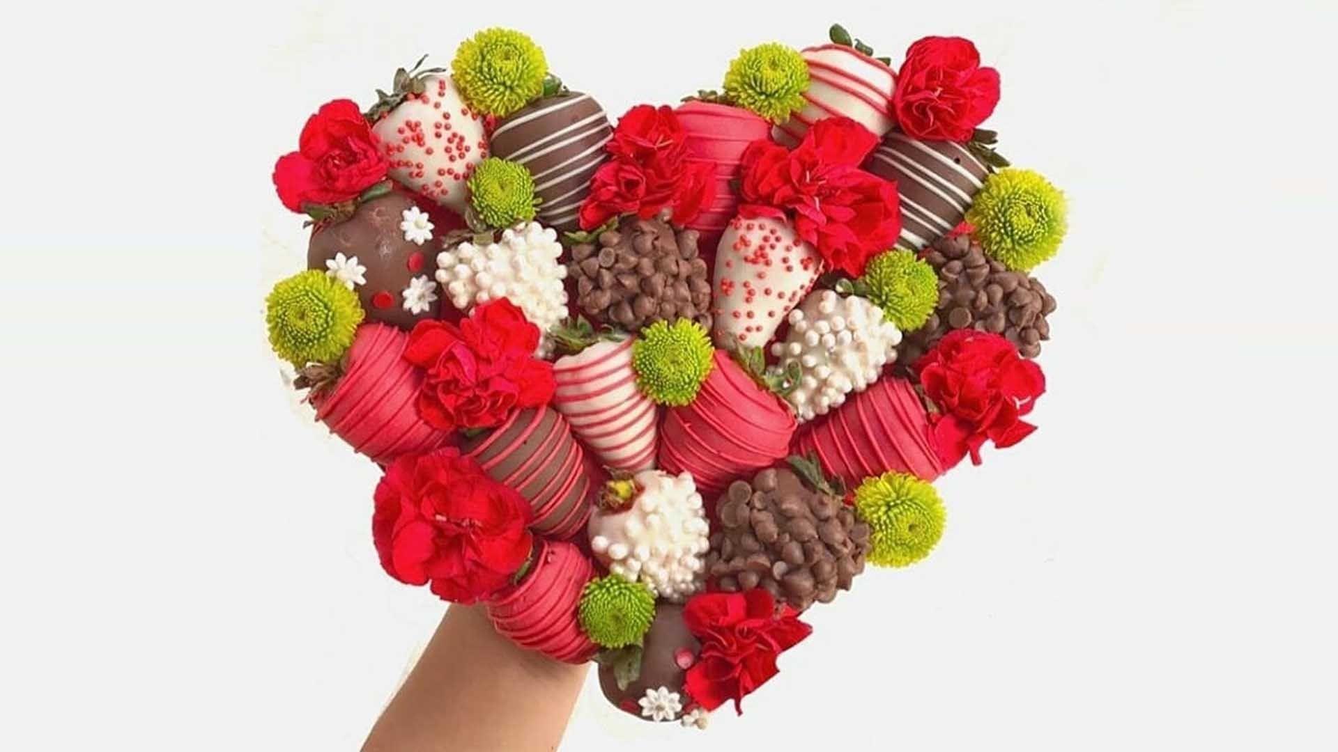 Regalos y decoración con frutas