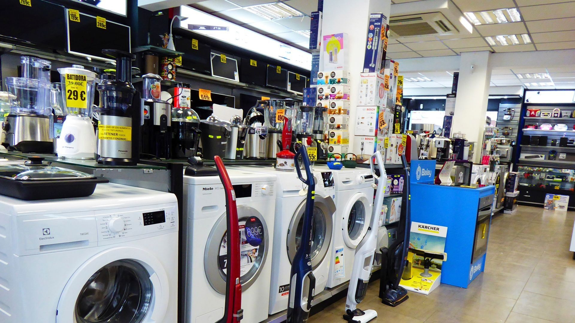 Venta de electrodomésticos en Orio