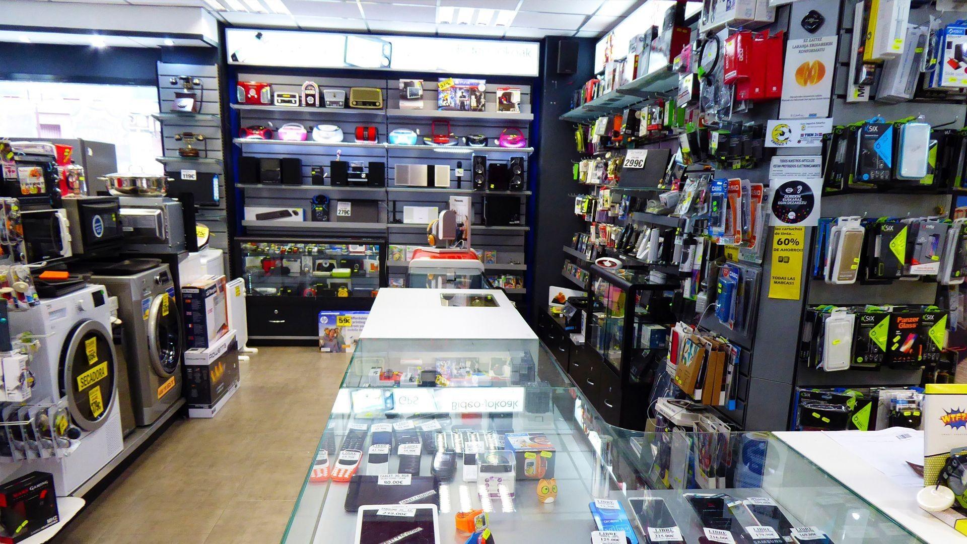 Tienda de electrodomésticos de todas las marcas en Orio