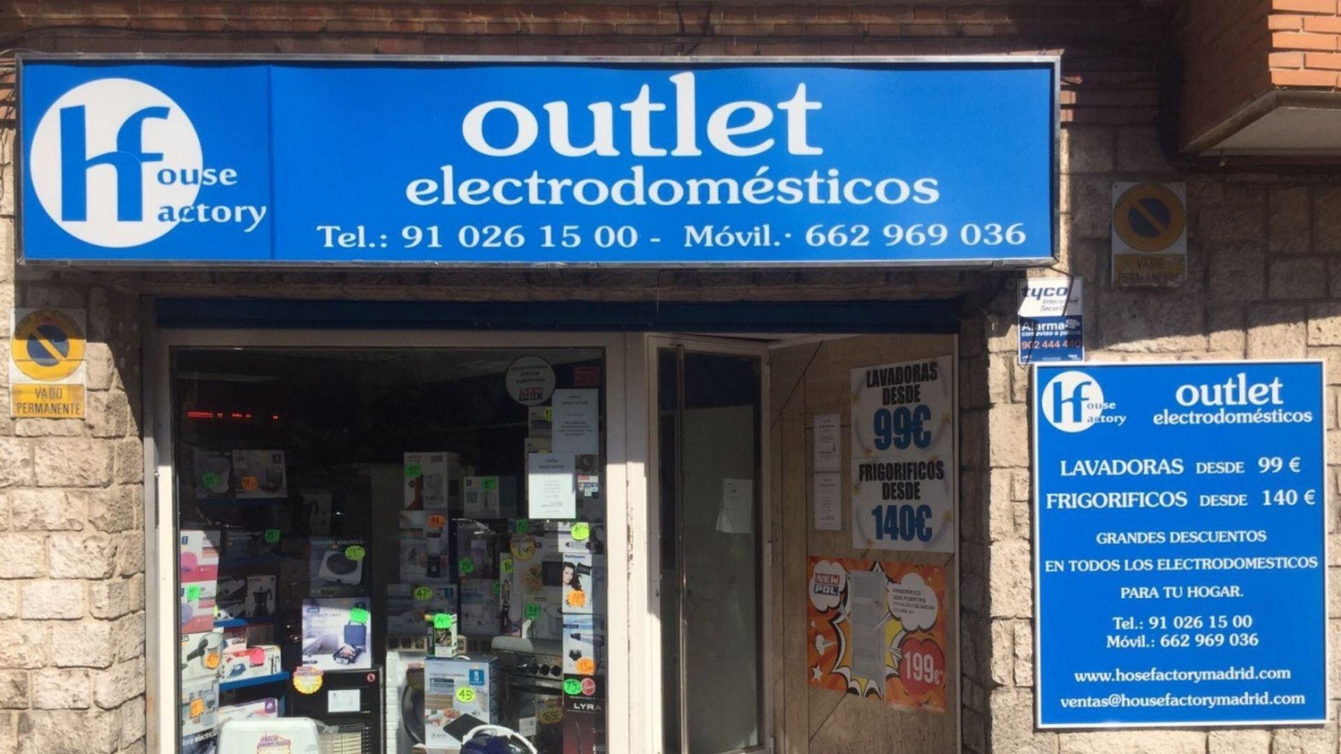 Electrodomésticos baratos Madrid