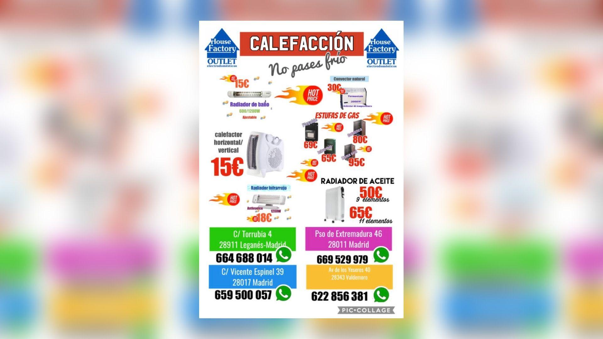 Electrodomesticos baratos Pueblo Nuevo madrid