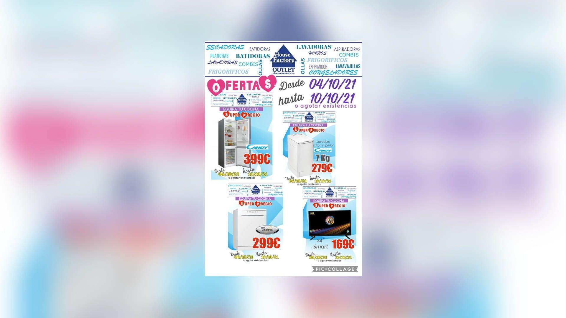 Electrodomésticos baratos en Pueblo Nuevo Madrid