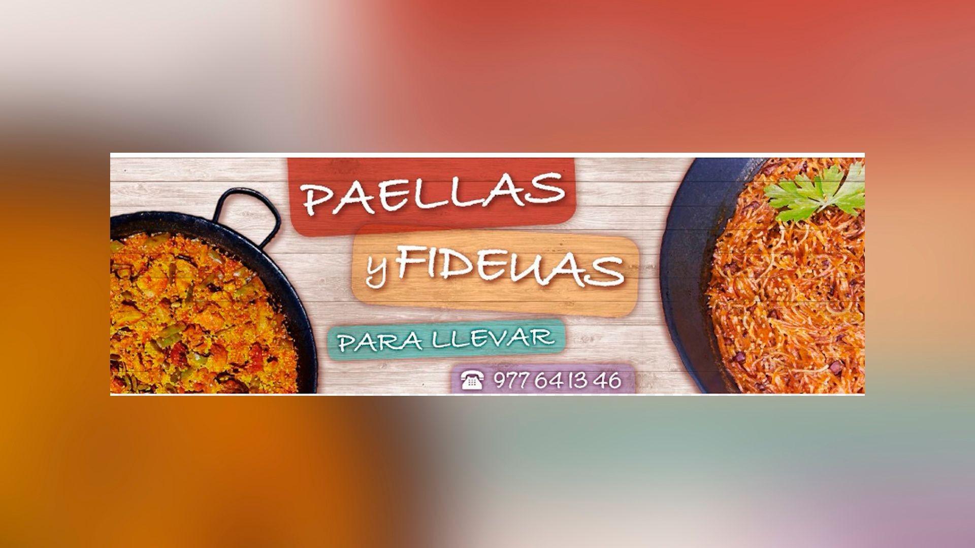 Paellas y fideua para llevar en Tarragona