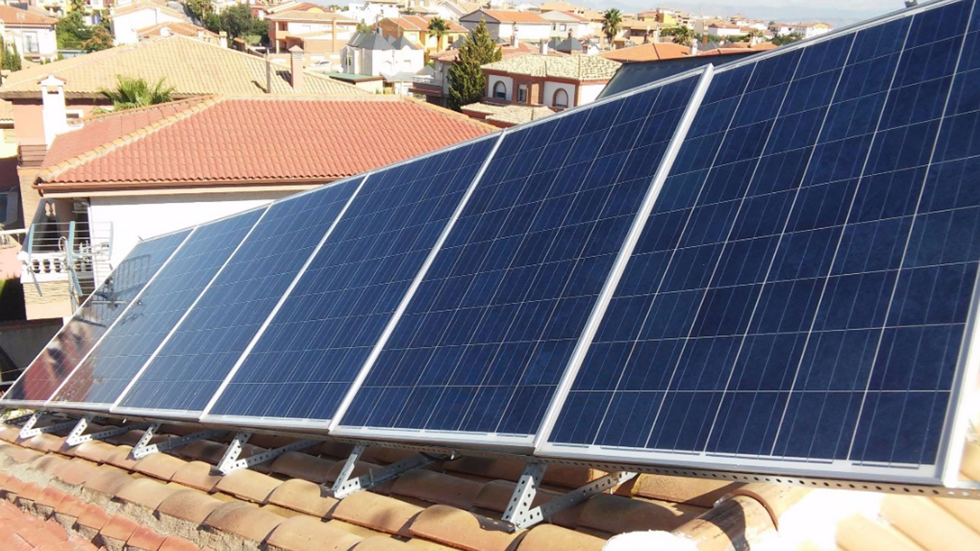 Placas de energía solar en Granada