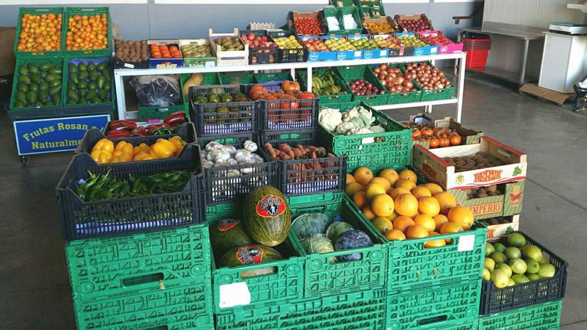 Venta de fruta en Sta Cruz de Tenerife