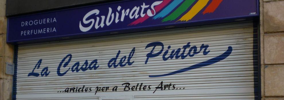 Tienda de pinturas en l'Eixample de Barcelona | Droguería Subirats
