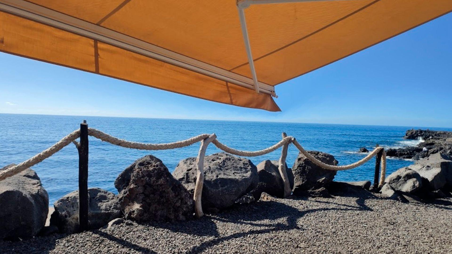 Restaurante canario en la playa de los Llanos de Aridane