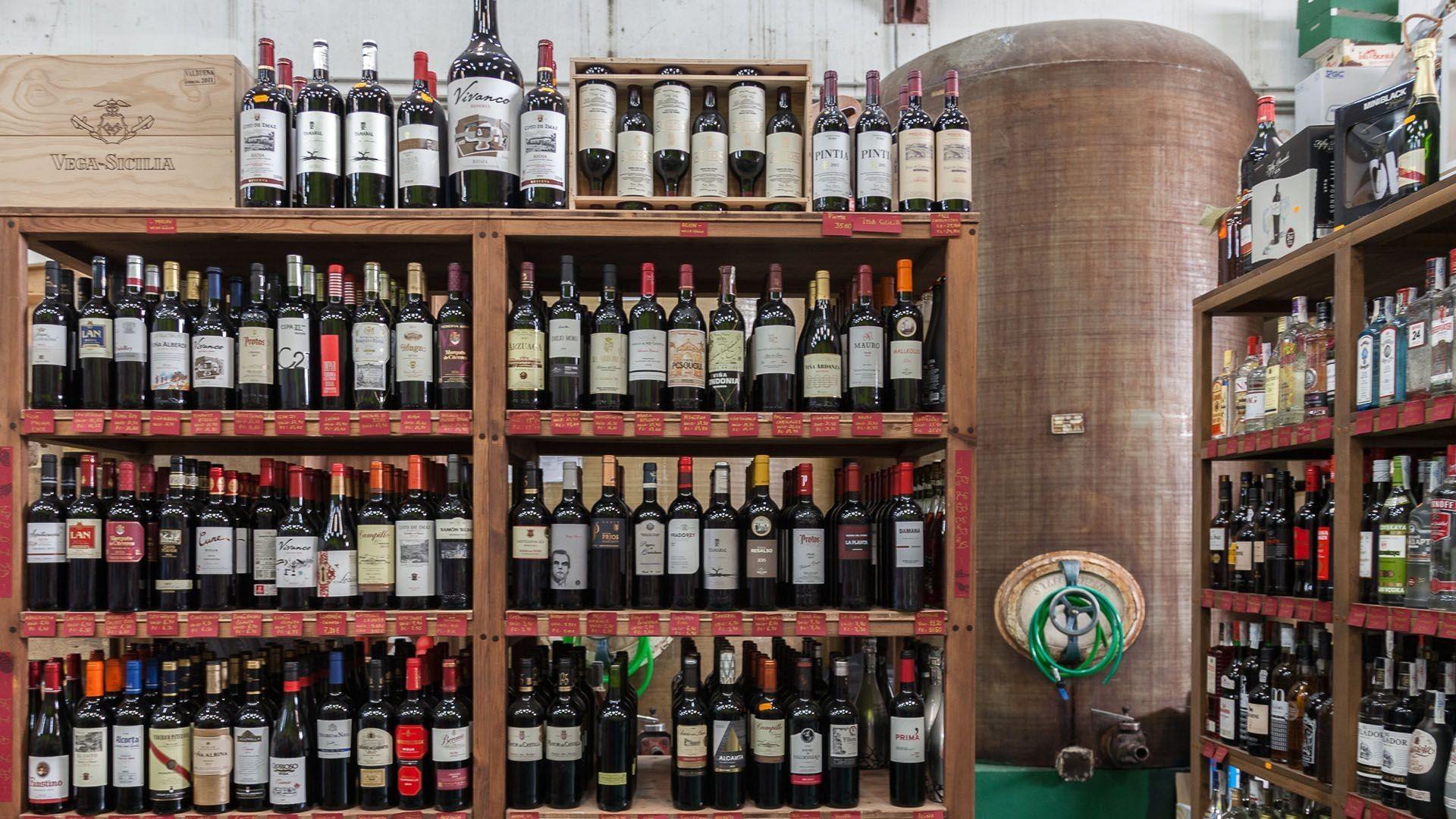 Venta de vinos de primera calidad en Aguilar de Campoo