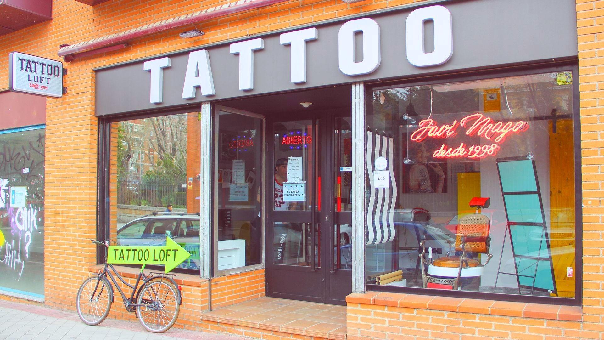 Tattoo fachada