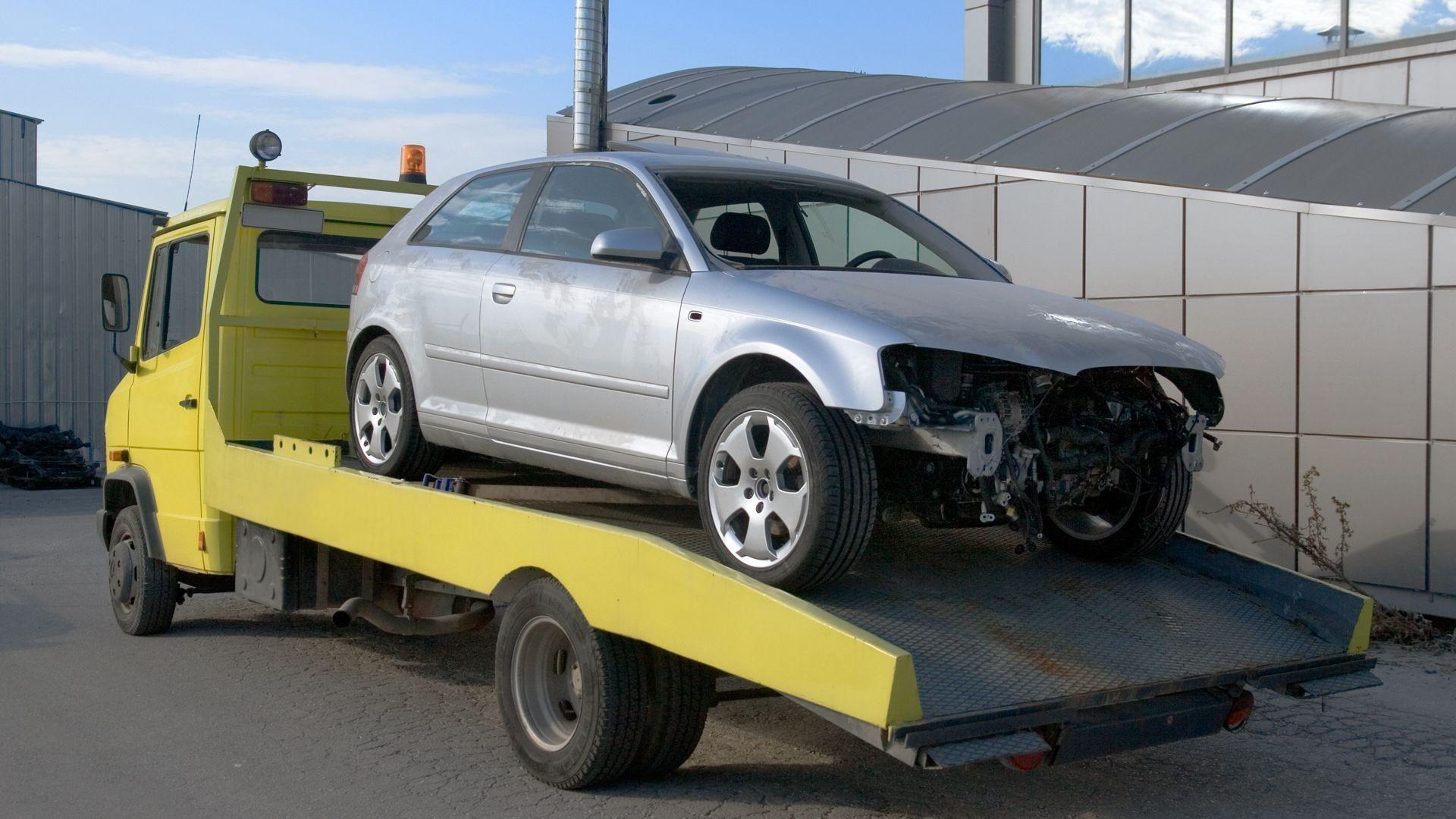 Servicio de grua vehículos en Calpe