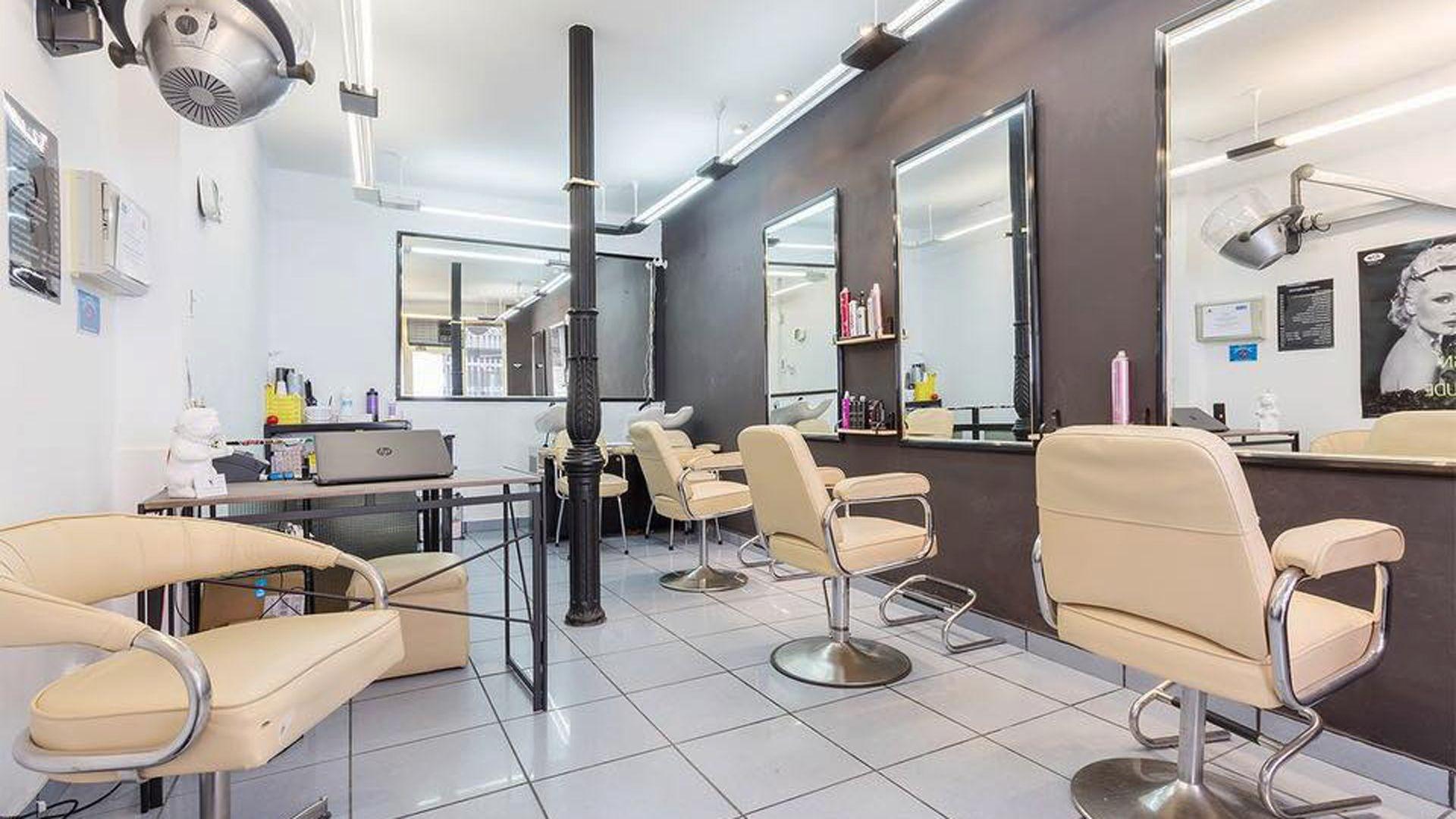 Salón de peluquería en Madrid