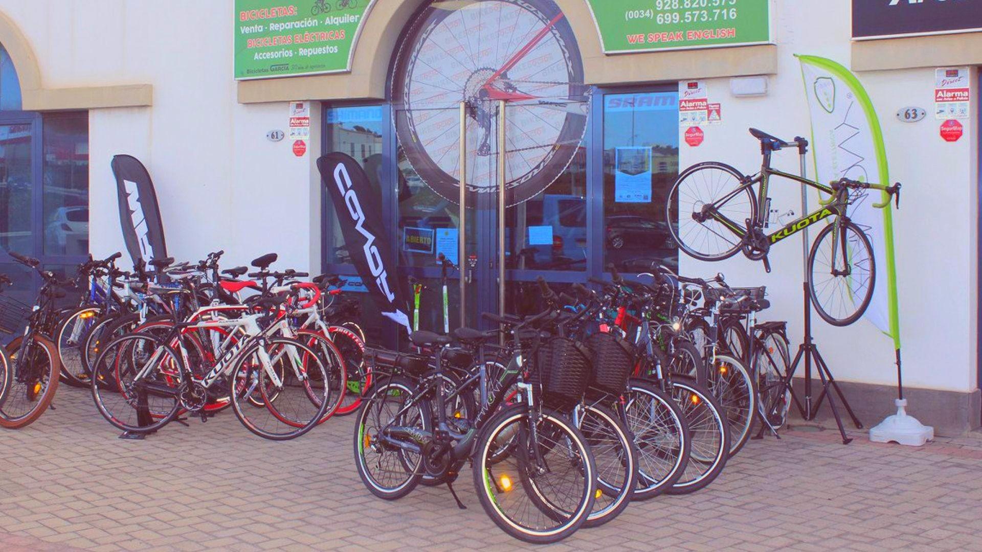 Alquiler, venta y reparaciones de bicicletas en Lanzarote
