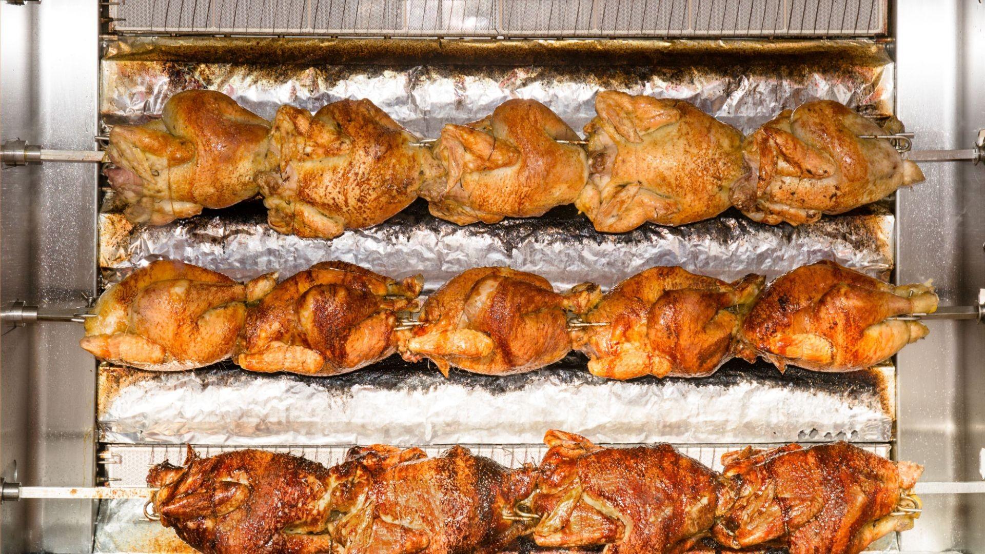 Asador de pollos en Torrijos