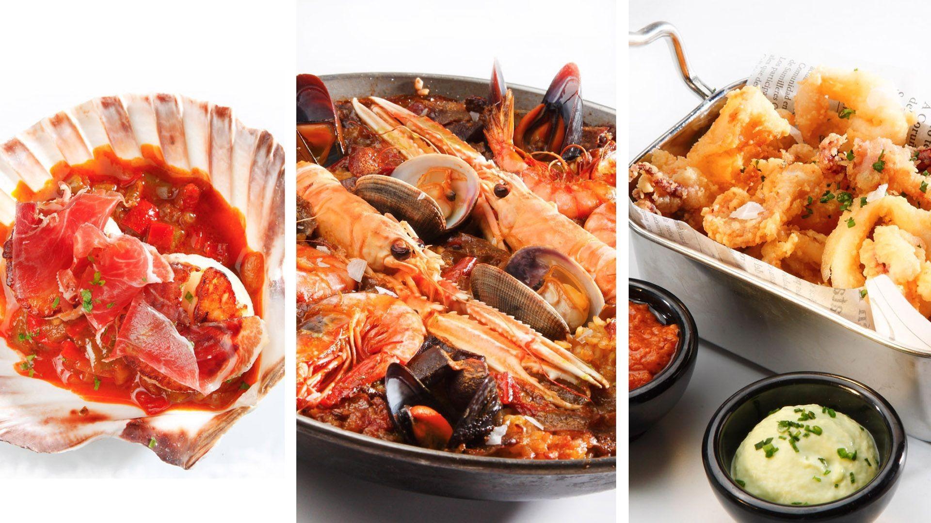 Restaurante con cocina de mercado en Barcelona