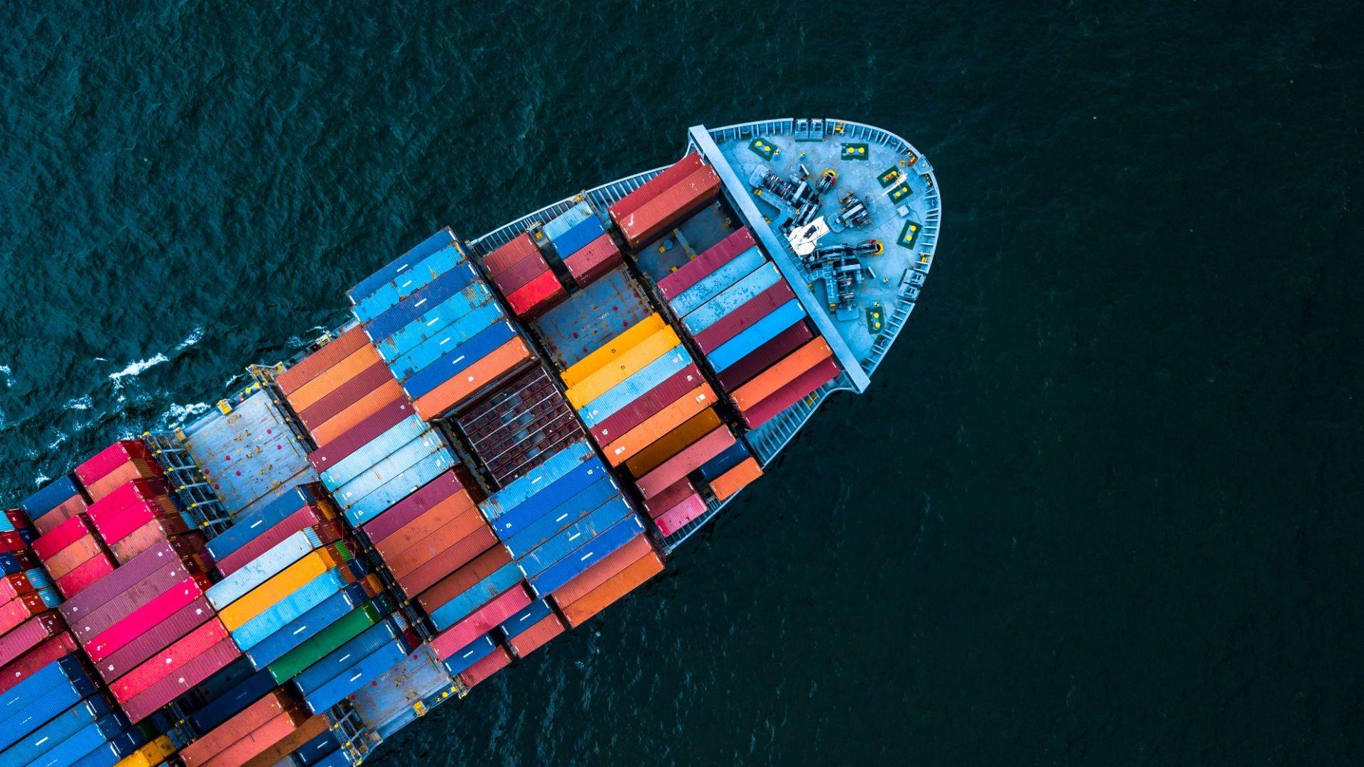 Frio industrial para contenedores de barcos