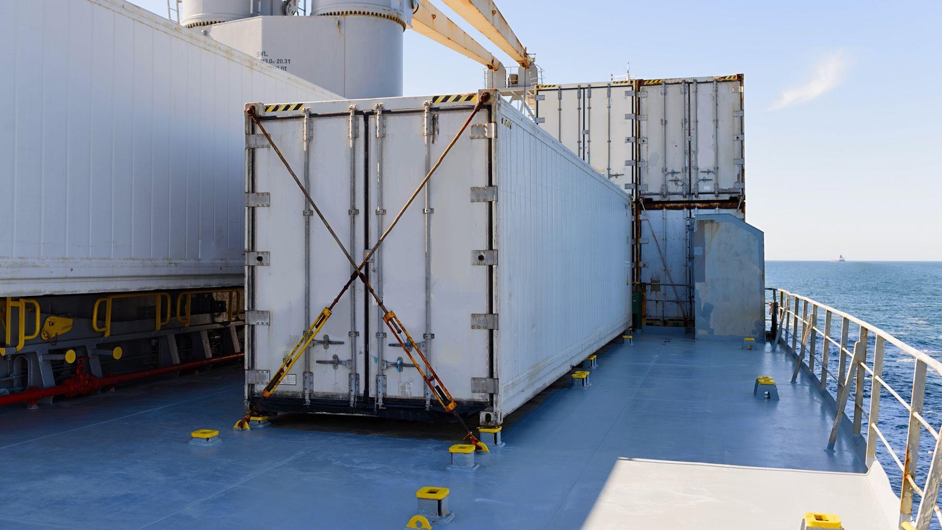 Cotendores frigoríficos para barcos