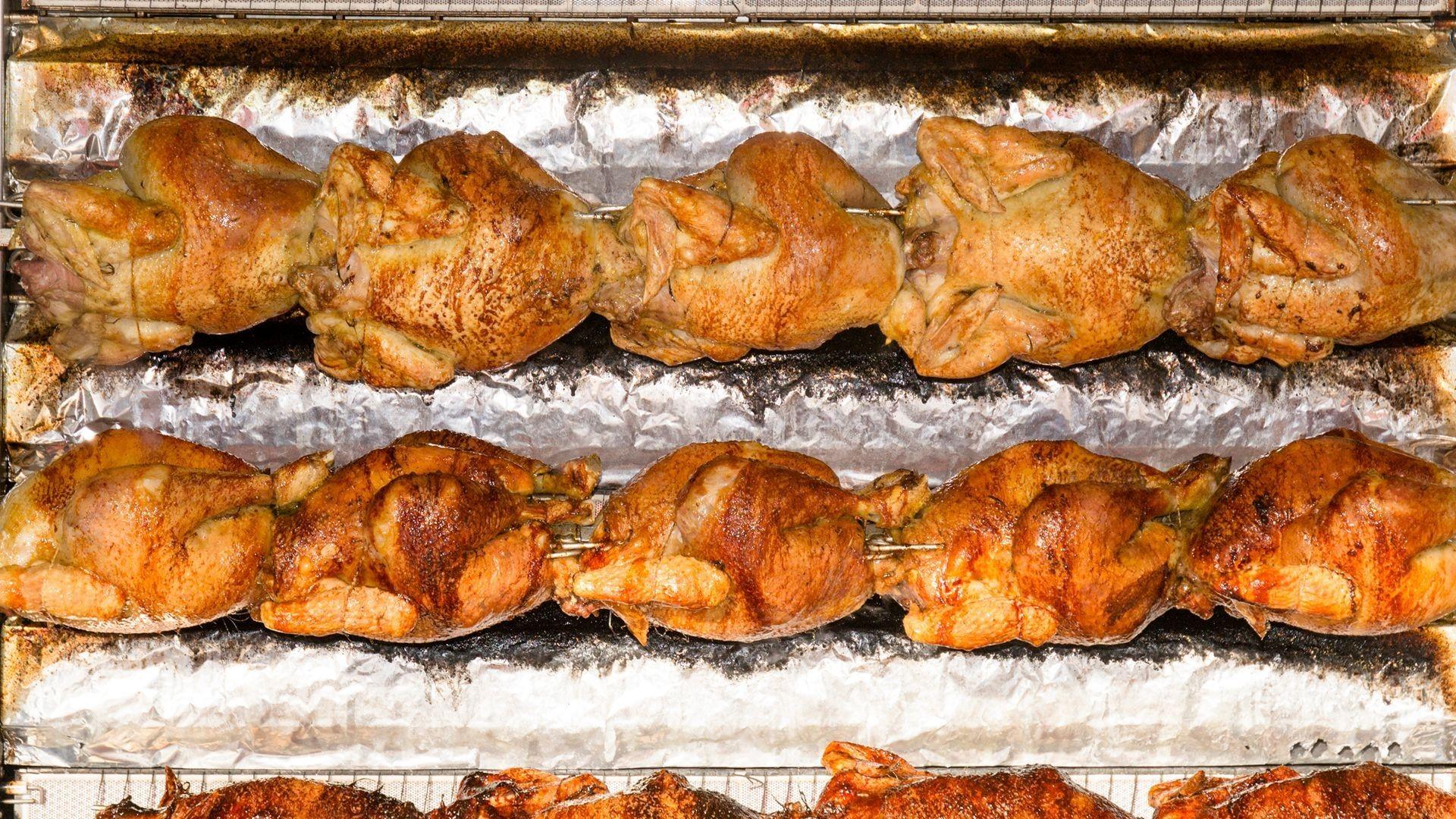 Pollos asados para llevar en Málaga