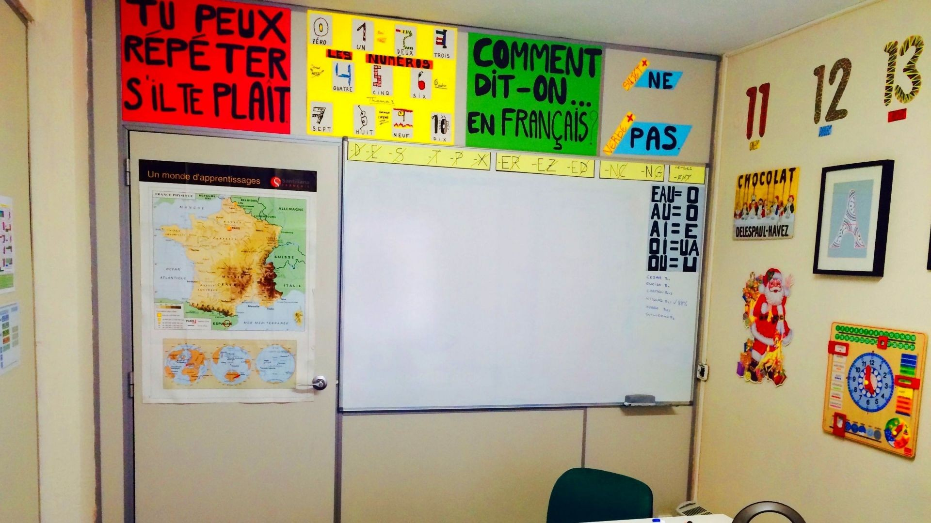 aula academia de idiomas