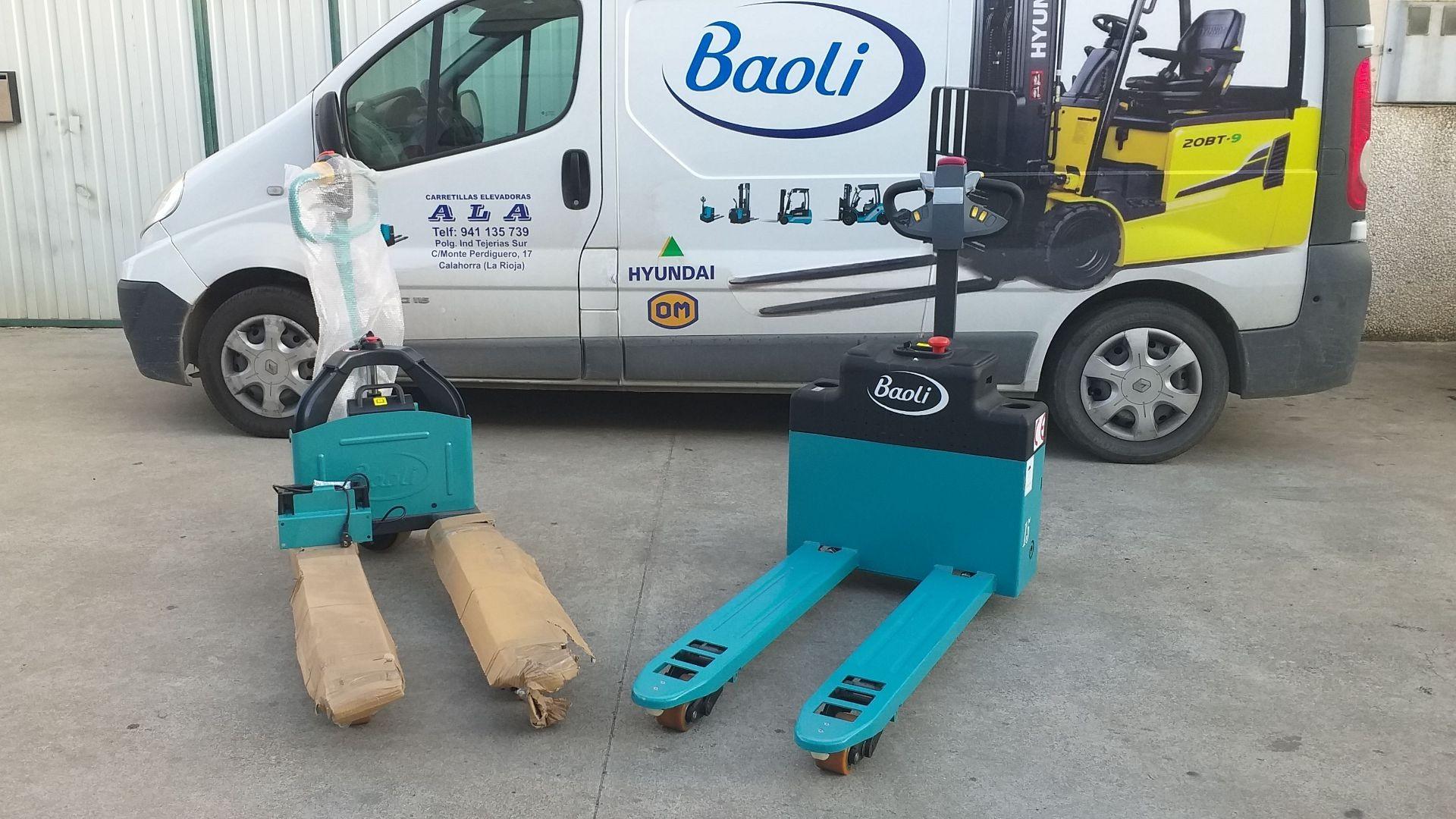 Varios transpaletas eléctricas BAOLI 5